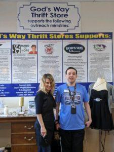 Thrift Store volunteers