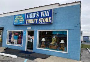 Georgetown thrift store