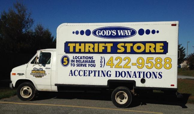 Thrift Store truck
